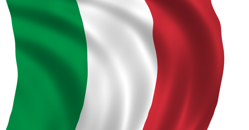 Italienflagge