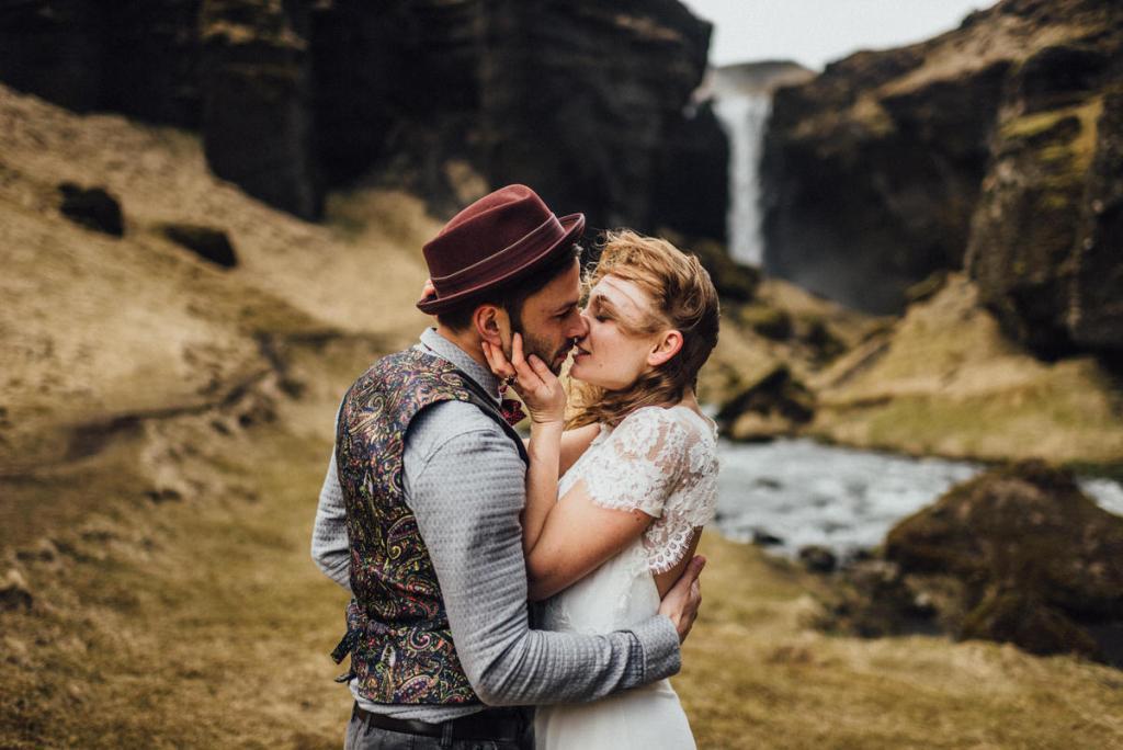After Wedding im Ausland - Island Elopment - Judith Stoop Hochzeitsfotografin