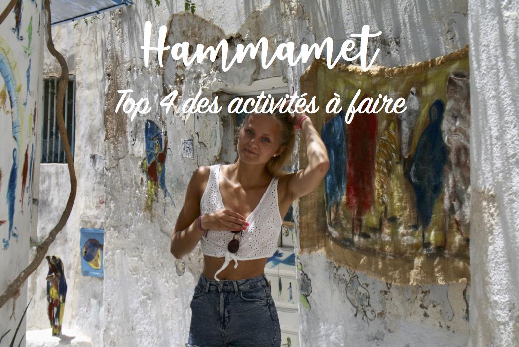 top 4 des activités à faire à Hammamet