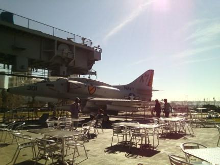 Aircraft aboard