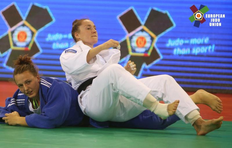 Srebro Beaty Pacut na European Judo Open Minsk 2017