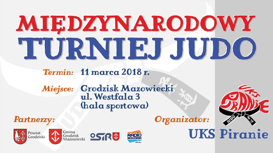 Międzynarodowy Turniej Judo pod patronatem Burmistrza Grodziska Mazowieckiego