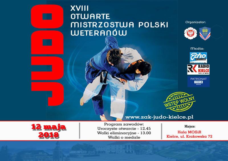 XVIII Otwarte Mistrzostwa Polski Weteranów Kielce 2018