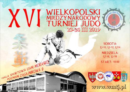XVI Wielkopolski Międzynarodowy Turniej Judo Poznań/Suchy Las