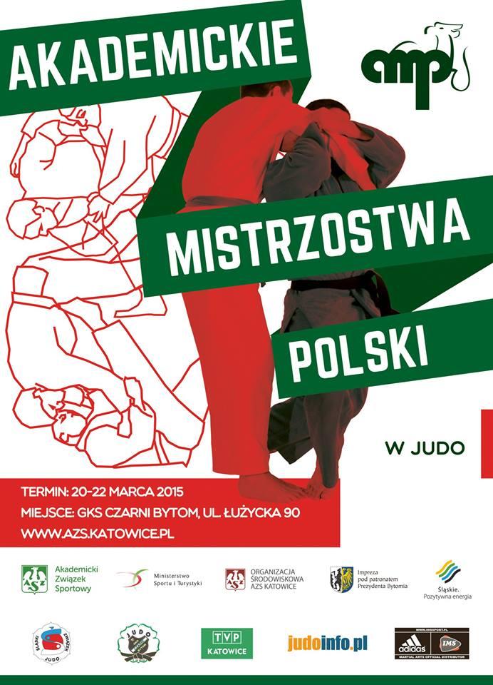 Plakat akademickich mistrzostw Polski