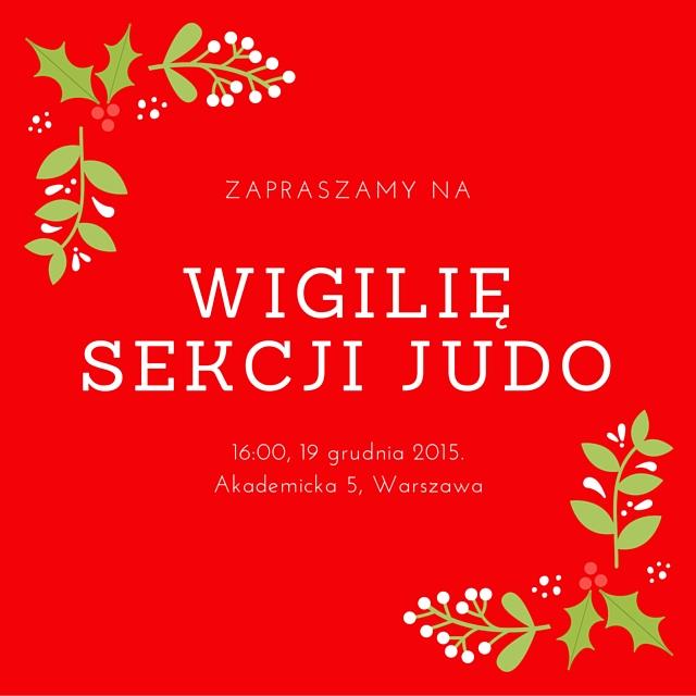 Wigilia Sekcji Judo 2016