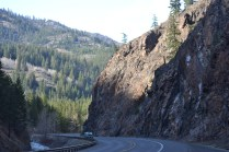 View from the road to Leavenworth