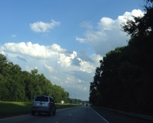 Highway clouds