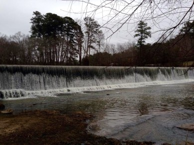 Starr's Mill waterfall