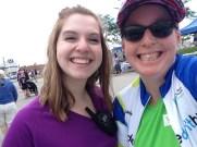 The wonderful Mackenzie Moyer and I
