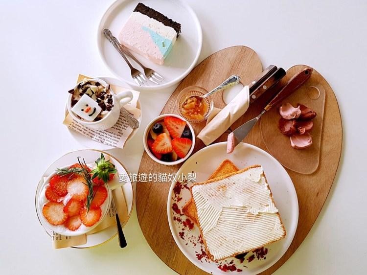 【韓國咖啡廳】乙支路3街站\CETU CAFE,草莓牛奶、調色盤吐司、棉花糖雪人熱可可,好療癒!