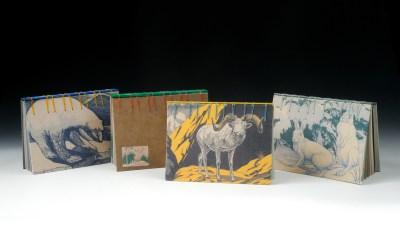 Wildlife Vintage Postcards' Journal