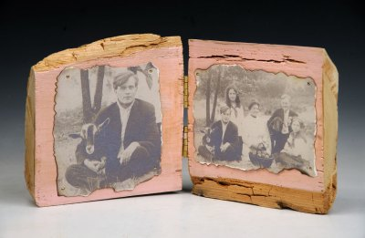 Goats on a Family Picnic, Diptych