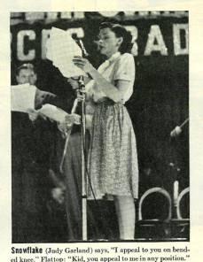 Judy Garland as
