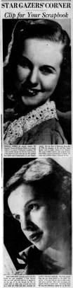 April 13, 1938 CLIP FOR SCRAPBOOK Pittsburgh_Sun_Telegraph