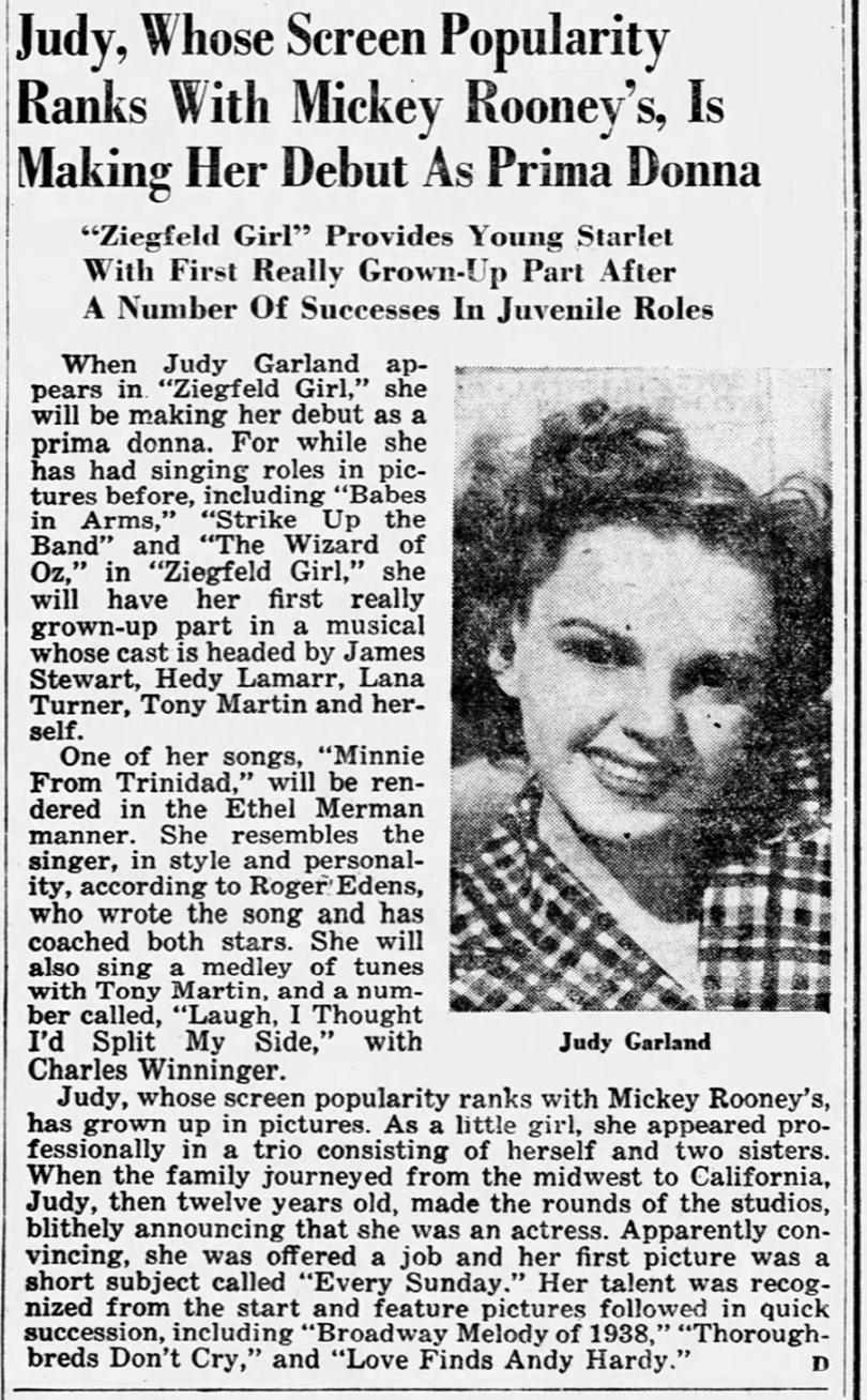 Judy Garland in