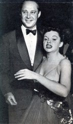 Judy Garland and Sid Luft at Romanoff's after Garland's Los Angeles Philharmonic opening night April 21, 1952