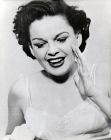 "Judy Garland in ""A Star Is Born"""