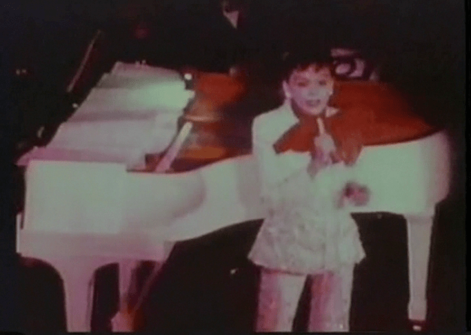 "Screenshot from the ""A Day In The Life Of Judy Garland"" unreleased film project."