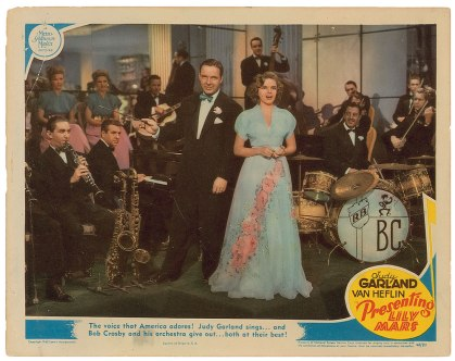 Presenting Lily Mars lobby card