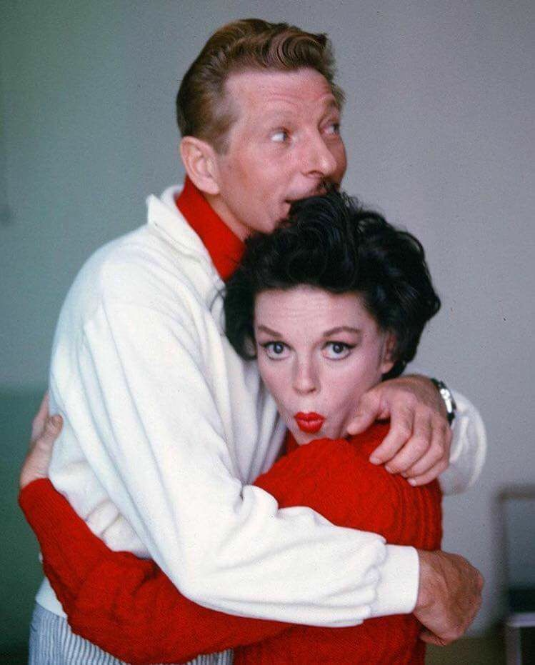 Judy and Danny Kaye