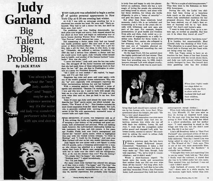 Judy Garland - Big Talent, Big Problems