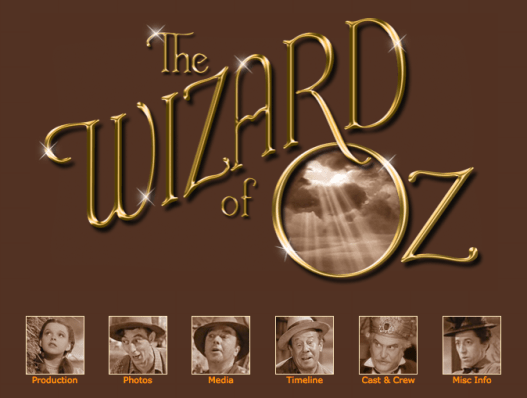 "The Judy Room's Special Spotlight Section on ""The Wizard of Oz"""