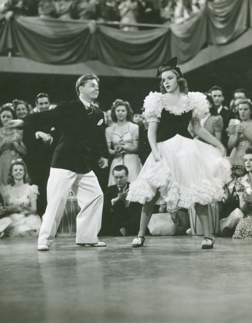 "Judy Garland and Mickey Rooney perform the ""La Conga"" from ""Strike Up The Band"""