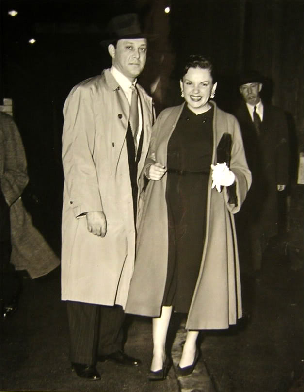 Judy Garland and Sid Luft in 1951