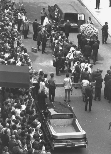 June 27, 1969 Casket Leaves 2