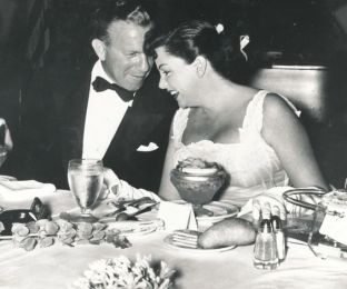 June 29, 1952 Judy and George Burns Friars