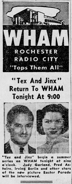 June-30,-1948-RADIO-TEX-AND-JINX-EASTER-PARADE-Democrat_and_Chronicle-(Rochester)