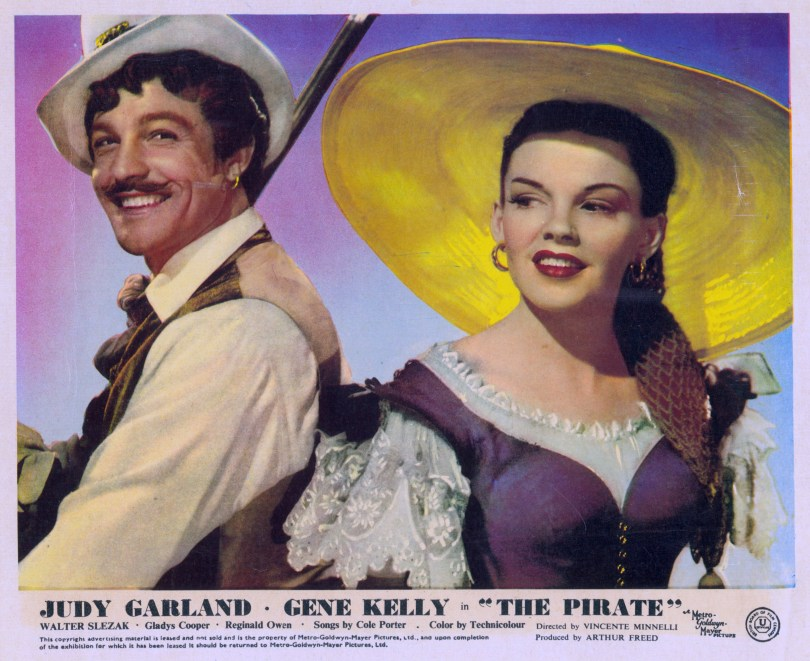The Pirate British Lobby Card