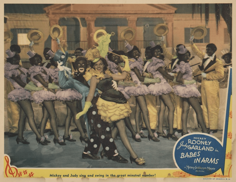 Babes-in-Arms-Lobby-Card-Minstrel-Number