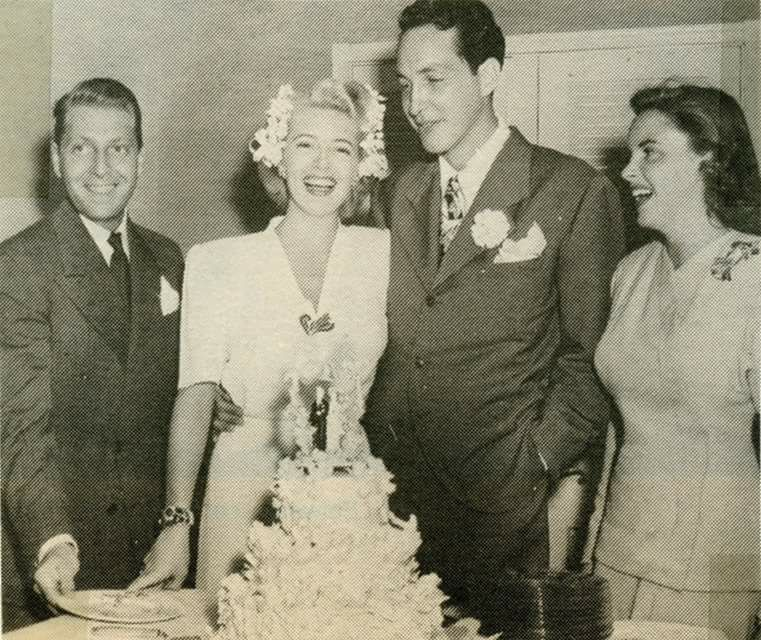July 17, 1942 Lana Turner marriage to Stephen Crane Las Vegas