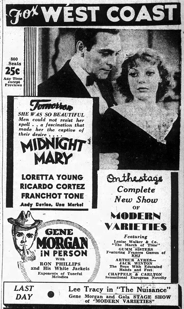 August-9,-1933-GUMM-SISTERS-The_Long_Beach_Sun