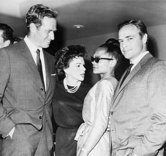 August 7, 1963 Charlton Heston Ertha Kitt Marlon Brando 2