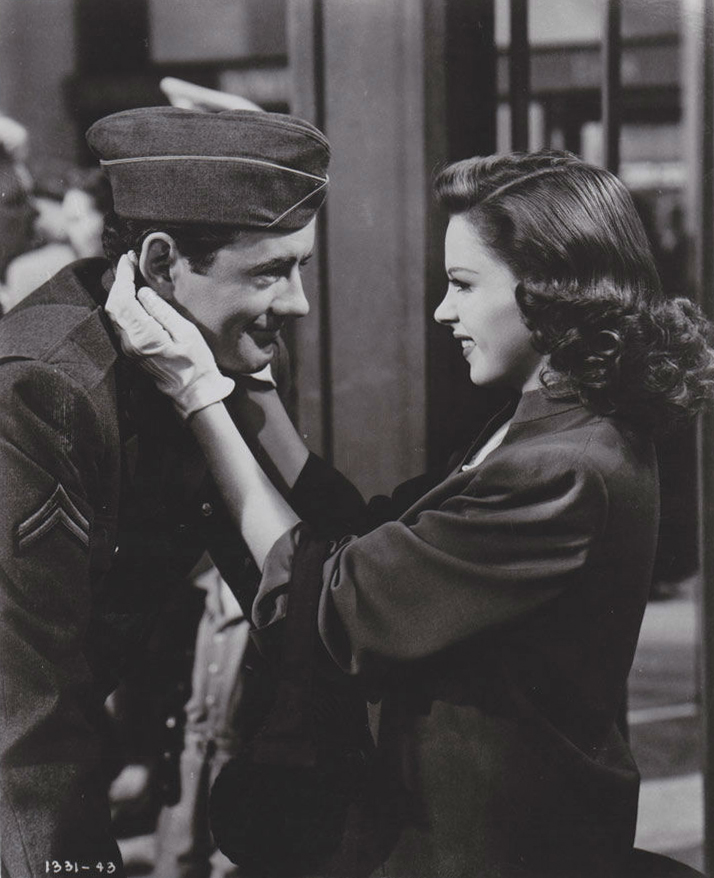 Judy Garland Robert Walker The Clock