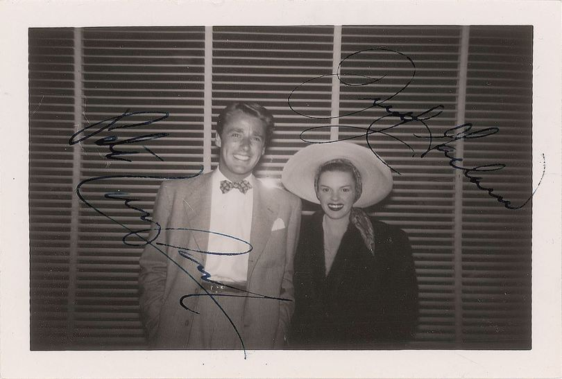 Judy Garland and Peter Lawford late 40s