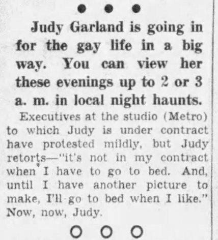November 22, 1939 JUDY GOING OUT SHEILAH GRAHAM COLUMN Des_Moines_Tribune