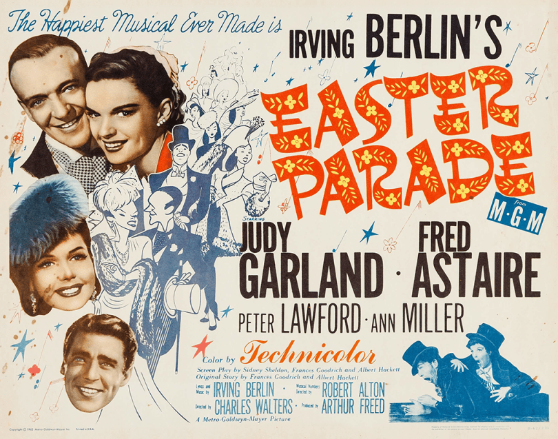 easter-parade-half-sheet-1962-re-release