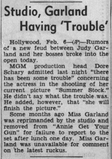 February-6,-1950-STUDIO-TROUBLE-Argus_Leader-(Sioux-Falls-SD)