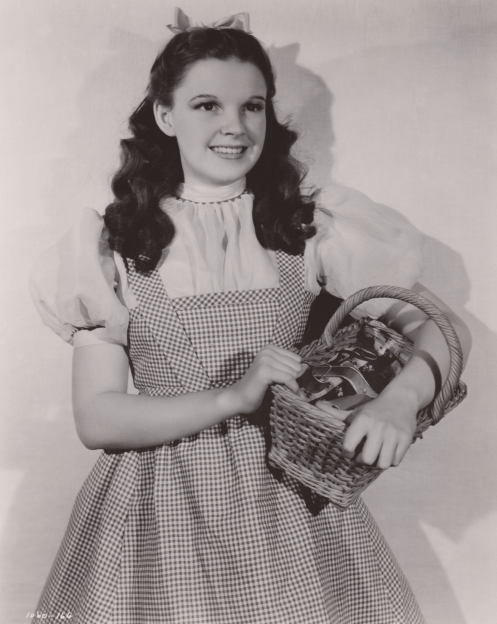 "Judy Garland as ""Dorothy"" in ""The Wizard of Oz"""