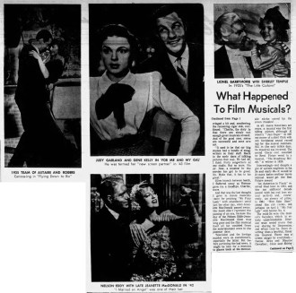 January 24, 1965 HISTORY OF MOVIE MUSICALS Oakland_Tribune 2