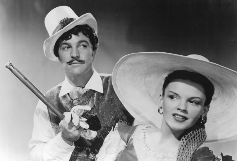 "Gene Kelly and judy Garland in ""The Pirate"""