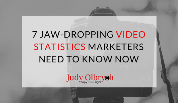 7 Jaw-dropping Video Statistics Marketers Need to Know Now