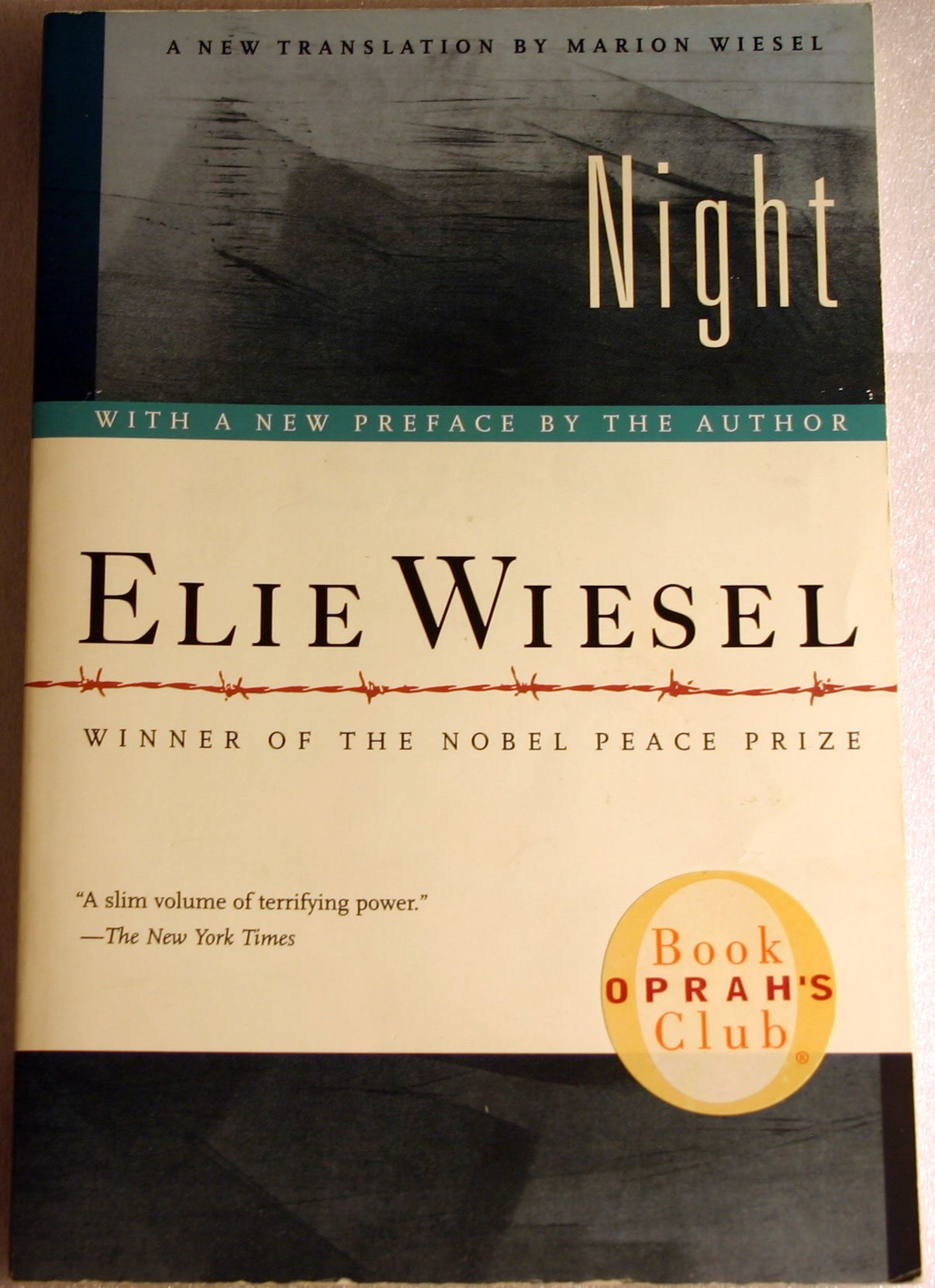 Night By Elie Wiesel New Softcover Book Published