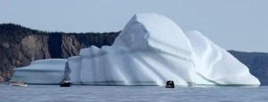 Iceberg close to home.