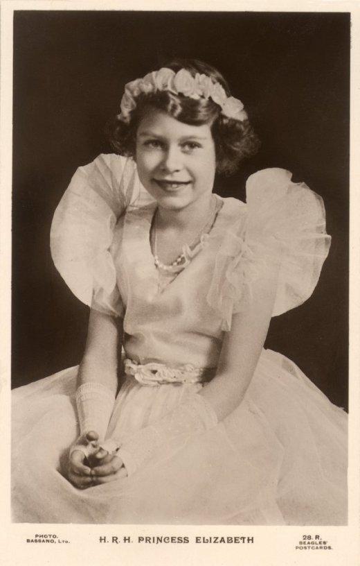 circa 1935: Princess Elizabeth, later Queen Elizabeth II