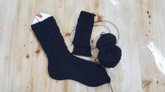 Gimli sock progress